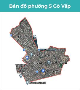 Bản đồ phường 12 quận gò vấp